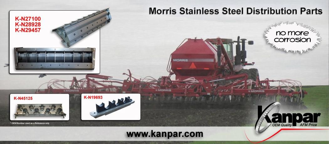 Morris Stainless Steel Distribution Parts